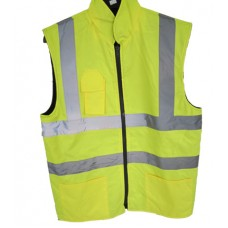 Step Ahead_Body Warmer Reversible_Yellow Colour